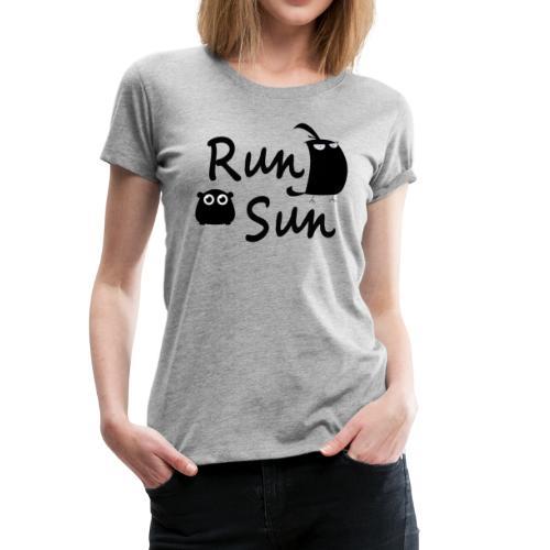 Run Sun T-Shirt - Women's Premium T-Shirt