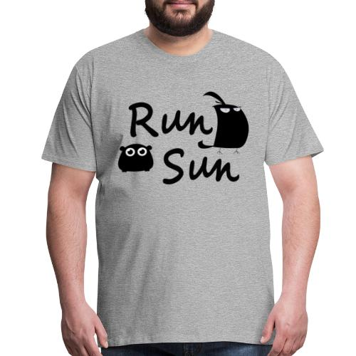 Run Sun T-Shirt - Men's Premium T-Shirt