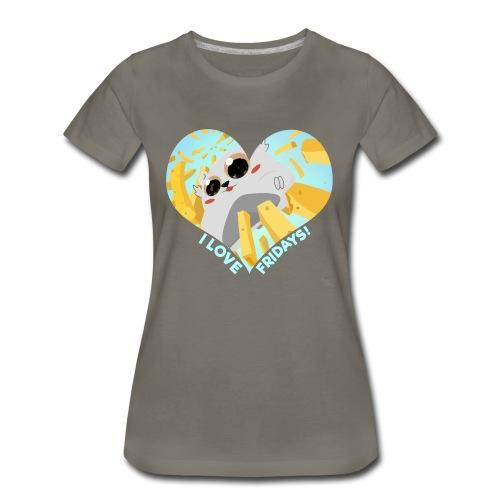 I Love Fridays! T-Shirt - Women's Premium T-Shirt