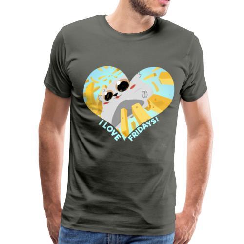 I Love Fridays! T-Shirt - Men's Premium T-Shirt