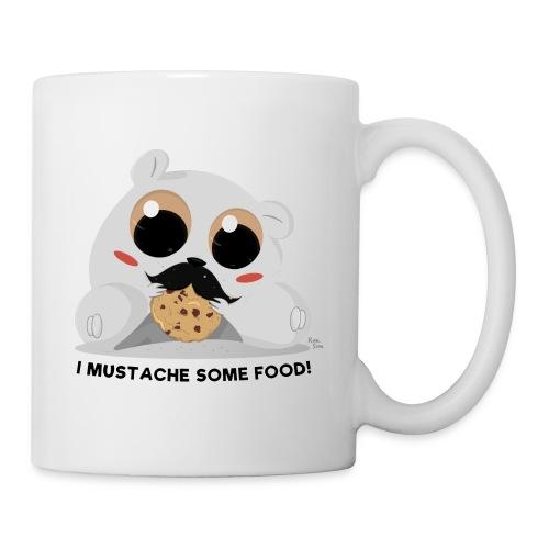I Mustache Some Food! Mug - Coffee/Tea Mug