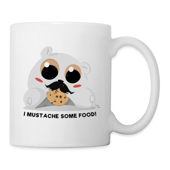 I Mustache Some Food! Mug