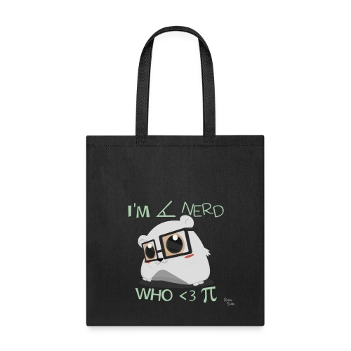A Cute Nerd Tote Bag - Tote Bag