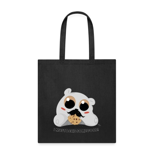 I Mustache Some Food! Tote Bag - Tote Bag