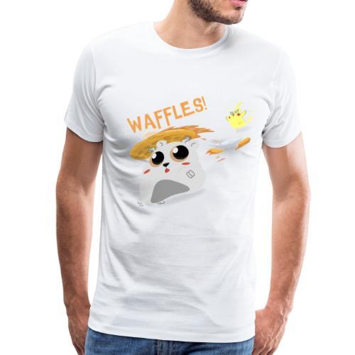 Waffles! T-Shirt - Men's Premium T-Shirt