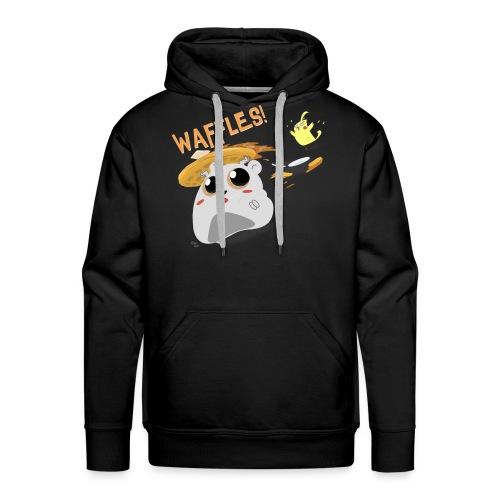 Waffles! Hoodie - Men's Premium Hoodie