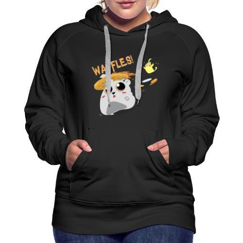 Waffles! Hoodie - Women's Premium Hoodie