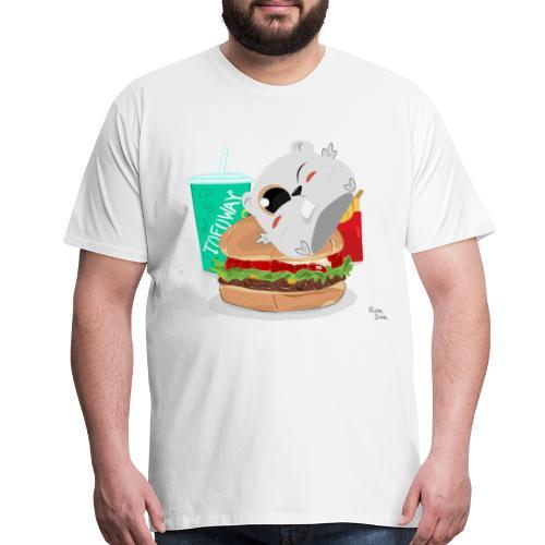 Fast Food T-Shirt - Men's Premium T-Shirt