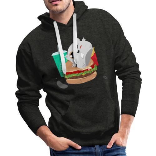 Fast Food Hoodie - Men's Premium Hoodie