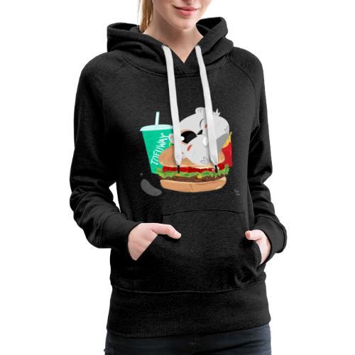 Fast Food Hoodie - Women's Premium Hoodie