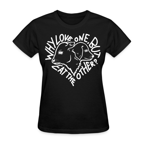 Why Love One? Shirt (Womens-Black) - Women's T-Shirt