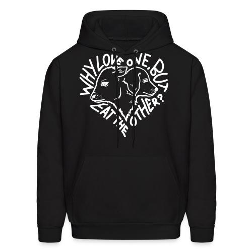 Why Love One? Hoodie - Men's Hoodie