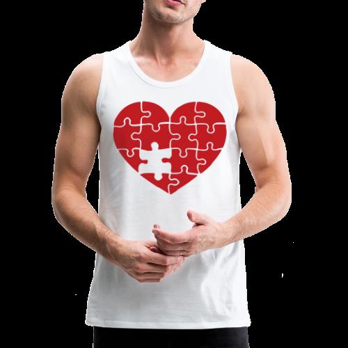 Men's FLS Heart Logo Tank - Men's Premium Tank