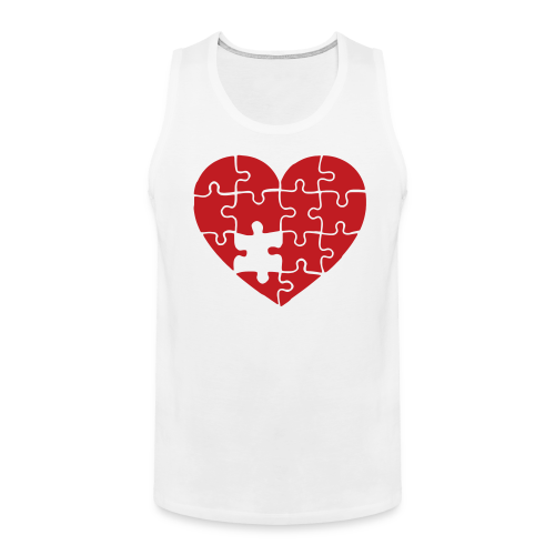 Men's FLS Heart Logo Tank - Men's Premium Tank