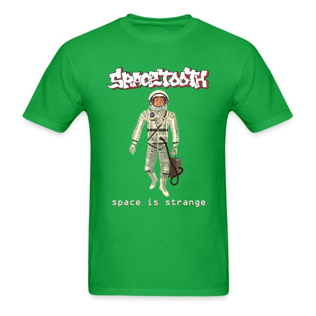 Spacetooth space is strange cover art | Men's T-Shirt