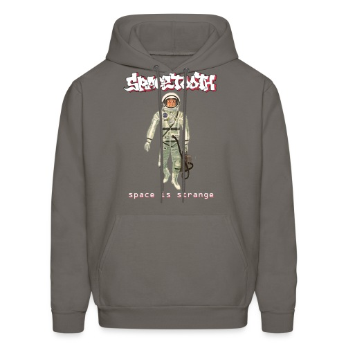 Spacetooth space is strange Hoodie - Men's Hoodie