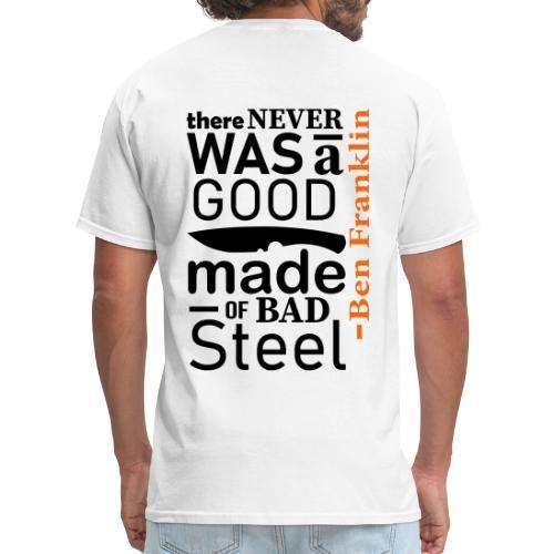 Ben Franklin Knife - Mens - Men's T-Shirt