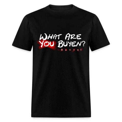WAYB logo - Black T-Shirt  - Men's T-Shirt