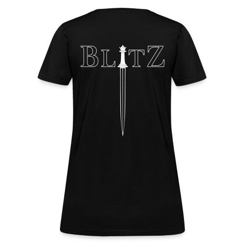 BLITZ CHESS - Queen - Women's T-Shirt