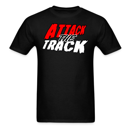 Attack The Track - Men's T-Shirt