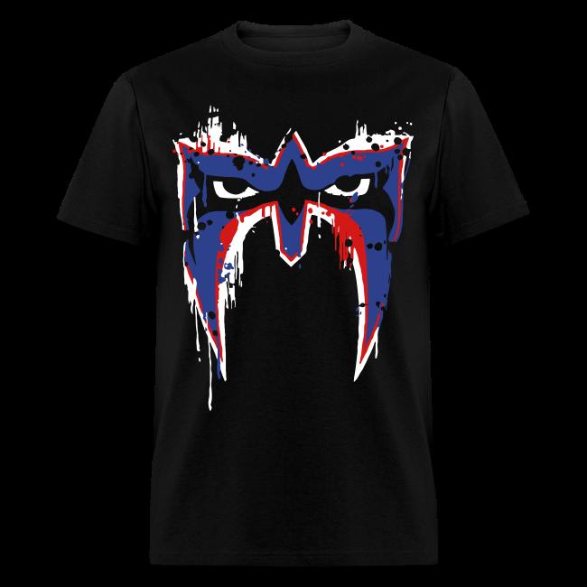Ultimate Warrior USA War Paint Shirt
