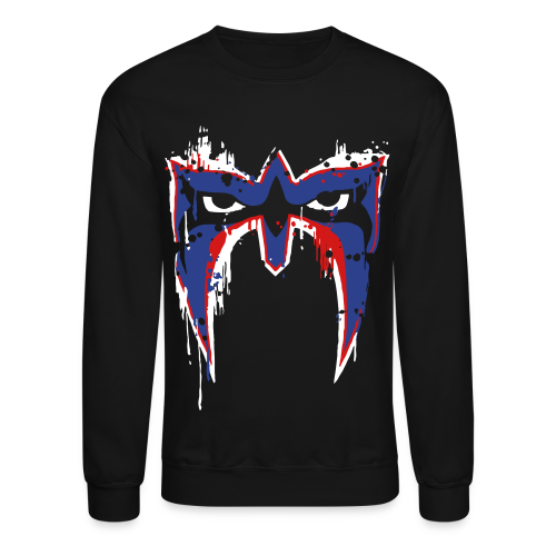 Ultimate Warrior USA War Paint Sweatshirt - Crewneck Sweatshirt