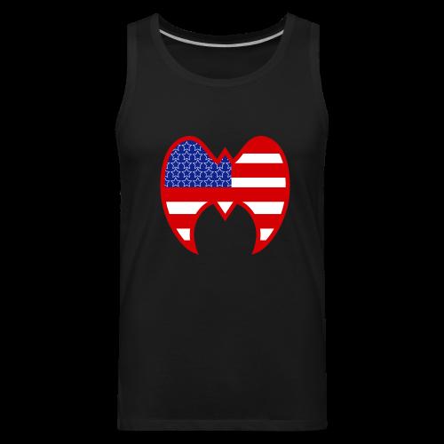 Ultimate Warrior Rumble Americana Tank Top - Men's Premium Tank