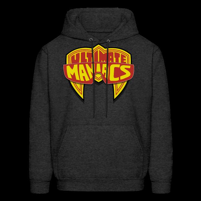Ultimate Warrior Ultimate Maniacs Grey Hoodie