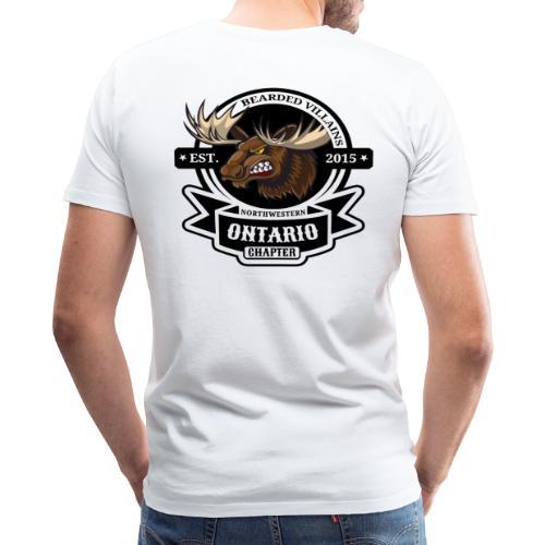 BIG BEARD White - Men's Premium T-Shirt