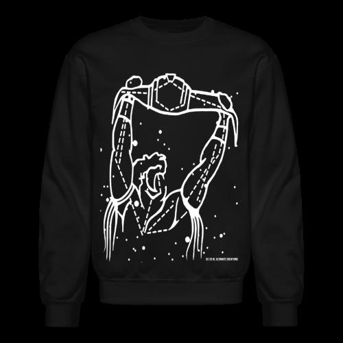 Ultimate Warrior Galaxies Sweatshirt - Crewneck Sweatshirt