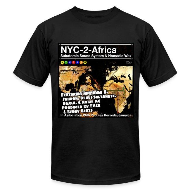NYC-2-Africa subway line