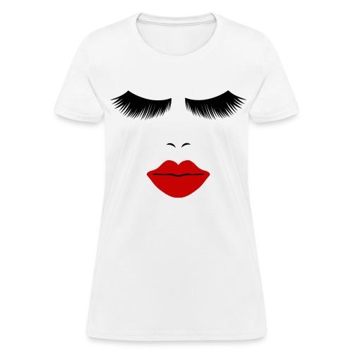 Fashion Face Silhouette  - Women's T-Shirt