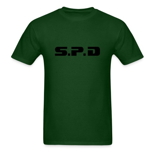 SPD Dark Green - Men's T-Shirt