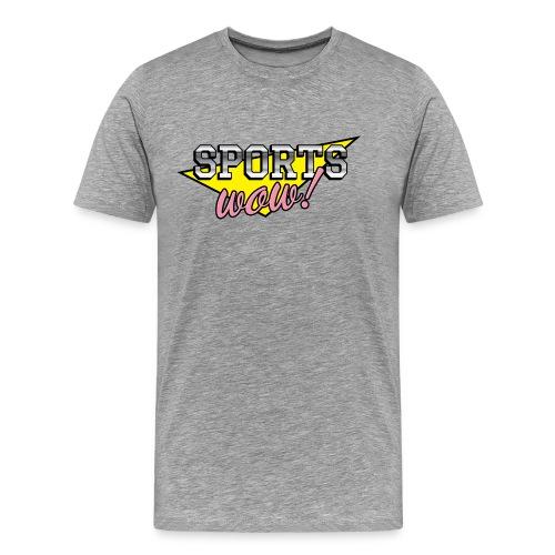 Sports: Wow! - Men's Premium T-Shirt