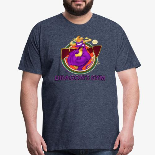 Dragon's Gym! - Men's T-Shirt - Men's Premium T-Shirt