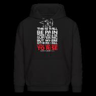Hoodies ~ Men's Hoodie ~ There will be pain | CutAndJacked | Mens hoodie