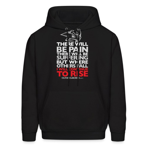There will be pain | CutAndJacked | Mens hoodie - Men's Hoodie