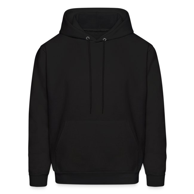 There will be pain   CutAndJacked   Mens hoodie (back print)