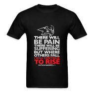 T-Shirts ~ Men's T-Shirt ~ There will be pain | CutAndJacked | Mens tee