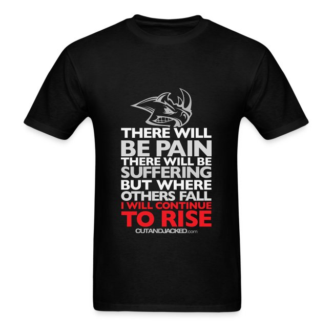 There will be pain | CutAndJacked | Mens tee