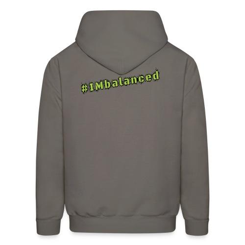 IMbalanced Grey Hoodie - Men's Hoodie
