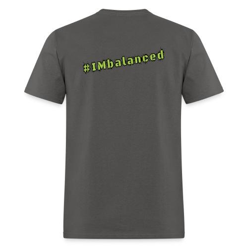 IMbalanced Grey T-Shirt - Men's T-Shirt