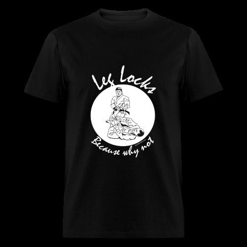Leg Locks - Jiu Jitsu - Men - wb - Men's T-Shirt