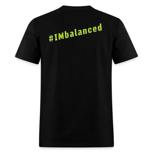 IMbalanced Black T-Shirt - Men's T-Shirt