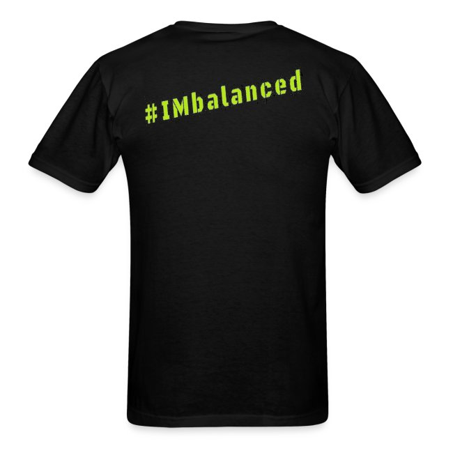 IMbalanced Black T-Shirt
