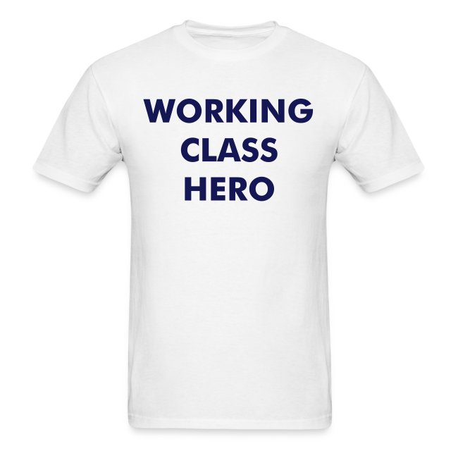 John Lennon t-shirt 'Working Class Hero'