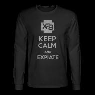 Long Sleeve Shirts ~ Men's Long Sleeve T-Shirt ~ Keep Calm & XP8