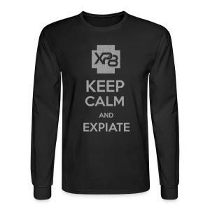 Keep Calm & XP8 - Men's Long Sleeve T-Shirt