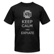 T-Shirts ~ Men's T-Shirt by American Apparel ~ Keep Calm & XP8