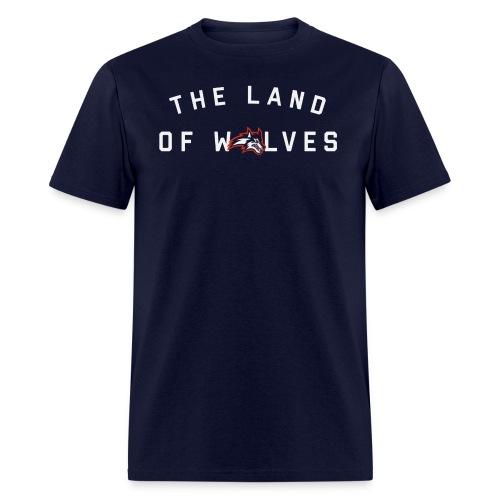 The Land of Wolves - Men's T-Shirt